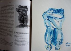 Camille claudel catalogue raisonné femme accroupie face dessin elize sculpture