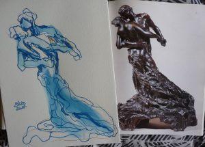 Camille claudel catalogue raisonné valse dessin elize sculpture