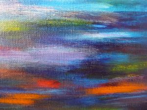 elize couleurs abstrait peinture