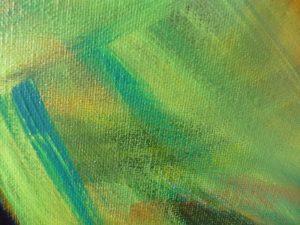 elize couleurs abstrait peinture vert