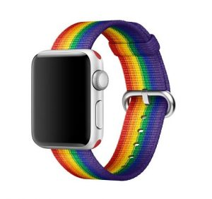bracelet gay pride arc-en-ciel apple i-watch prix acheter