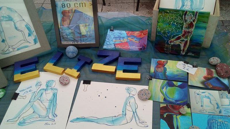 Peindre en public – retour sur mon expérience