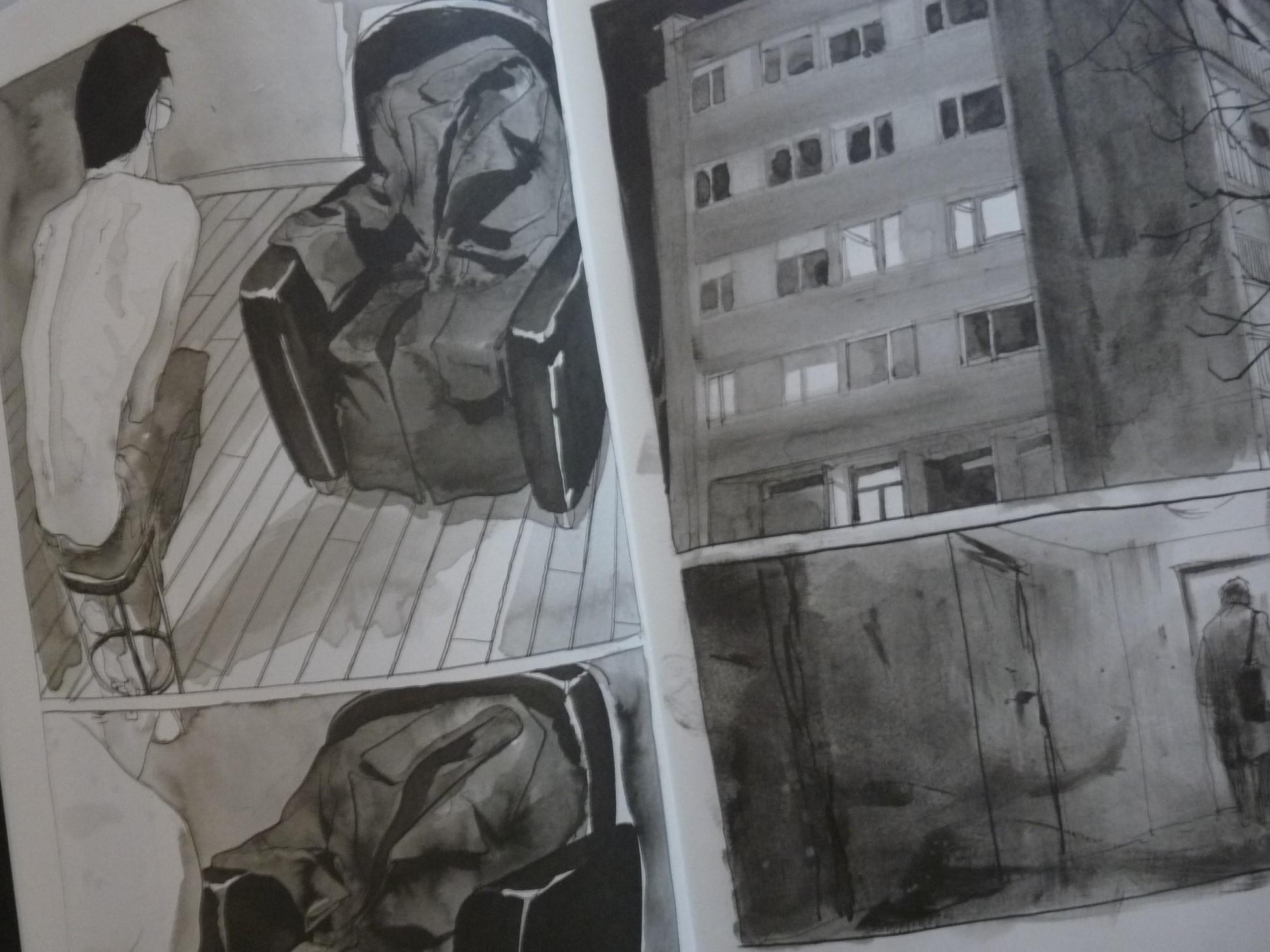 le dernier modèle bande dessinée BD levallois dessin nu artistique