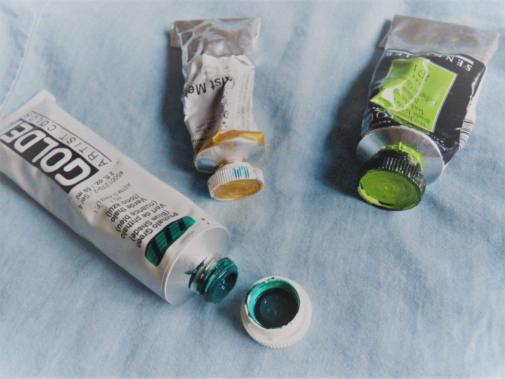 tube de peinture acrylique golden lascaux sennelier