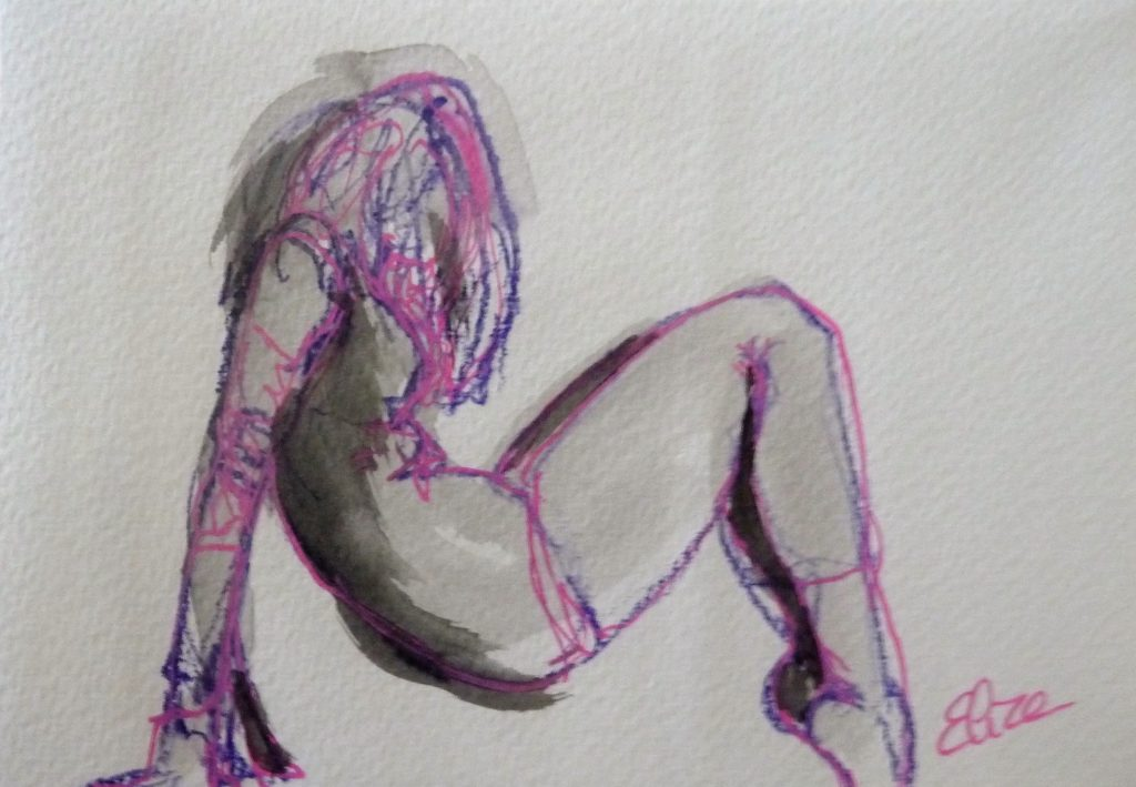 danse dessin danseuse esquisse elize pigmentropie elize moderne