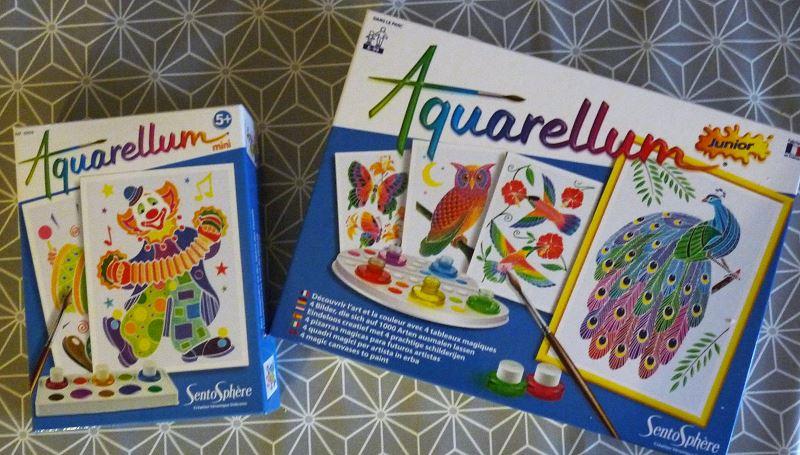 [activité enfant] Aquarellum pour comprendre la couleur