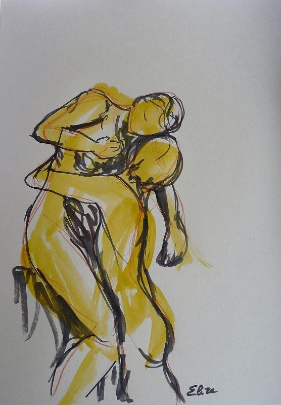 Camille Claudel Elize l'abandon sculpture
