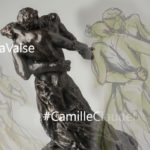 Camille Claudel la Valse sculpture esquisse Elize