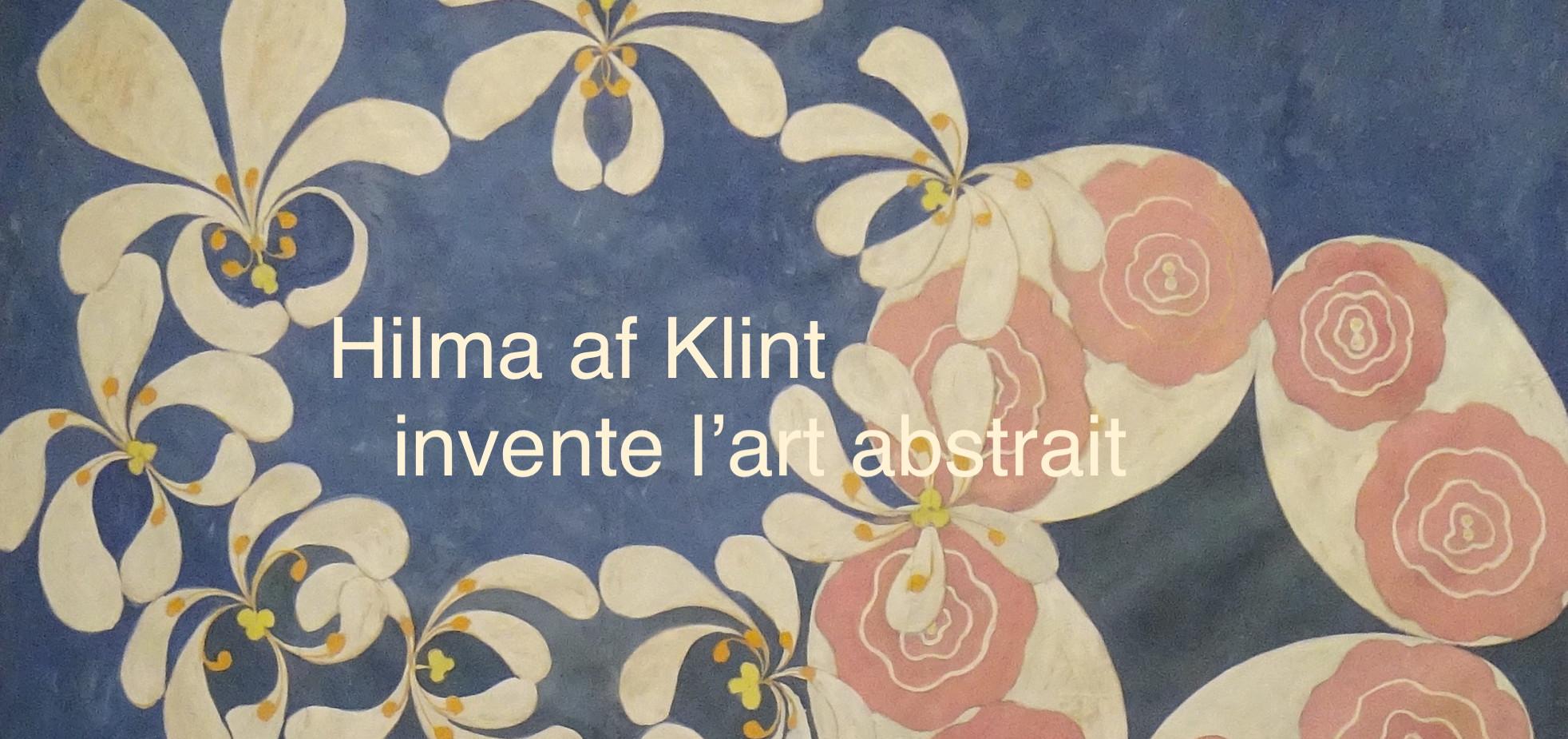 klint abstraction peinture suède invention