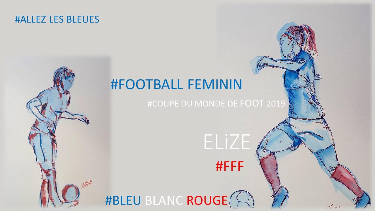Pourquoi j'encourage le foot féminin : Allez les bleues ! 10 dessins à découvrir