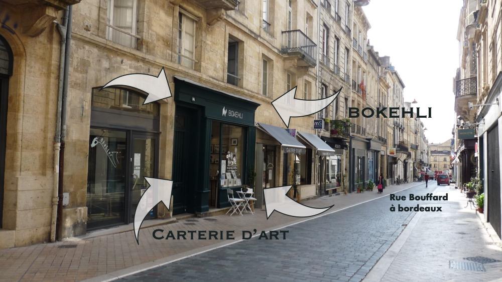 Bokehli, la boutique de cartes artistiques de Bordeaux