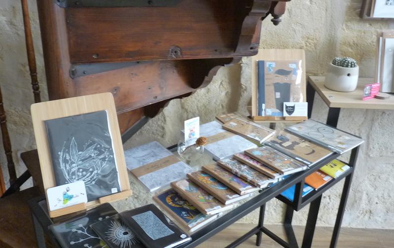 carnet livre bokheli carteriez art peinture boutique artiste bordeaux