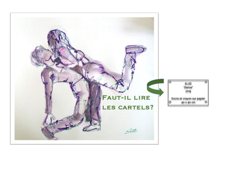 cartel d'oeuvre d'art