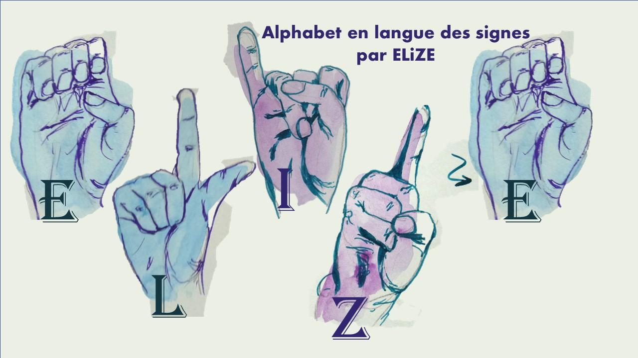 26 dessins de main : mon abécédaire en langue des signes