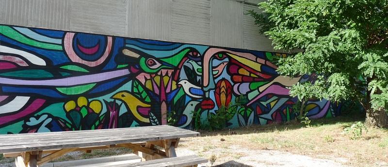 mono gonzalez pessac street art