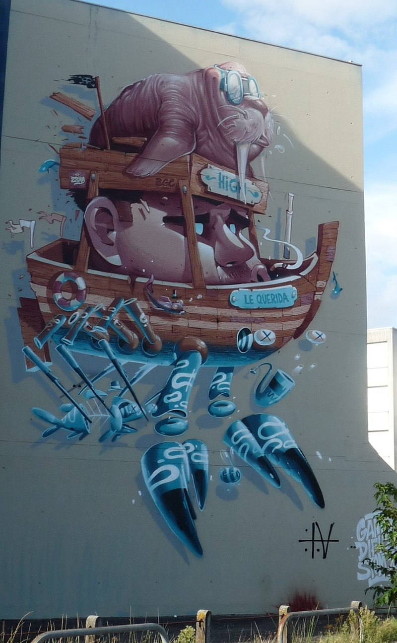 mr difuz pessac street art
