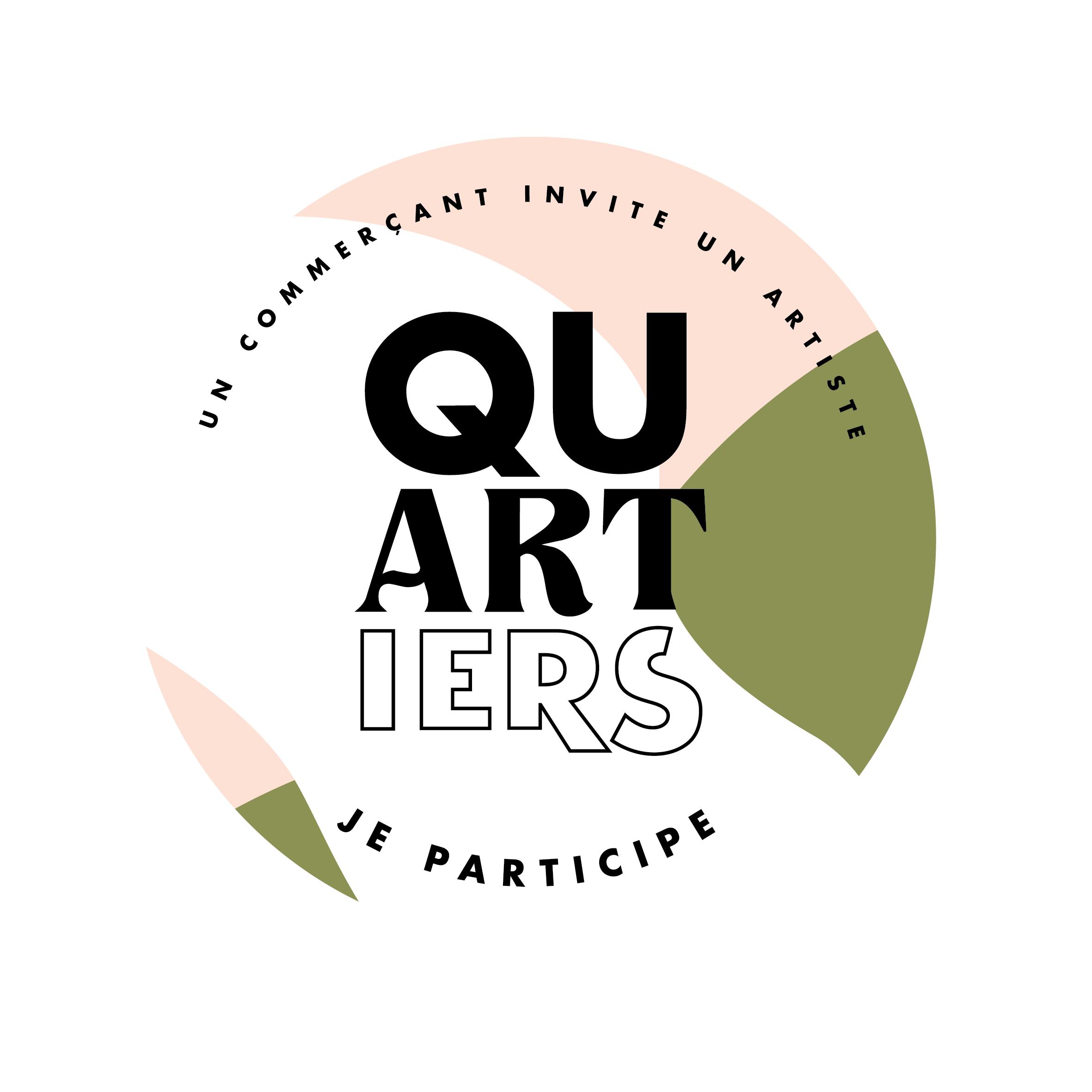 ronde des quartiers bordeaux je participe à l'évenement un commercant invite un artiste 2020 pigmentropie
