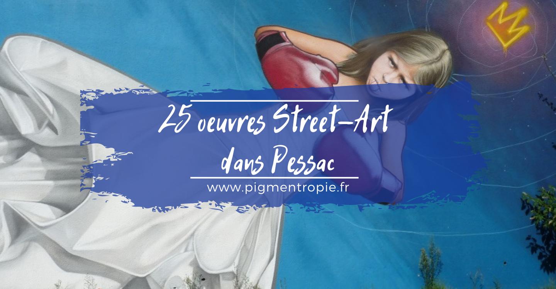 25 étapes de street-art à Pessac