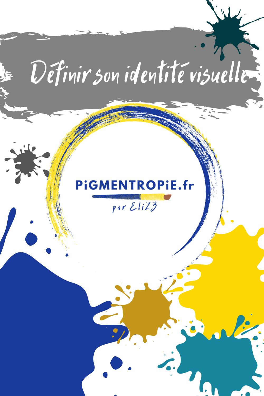 identité visuelle artiste pigmentropie