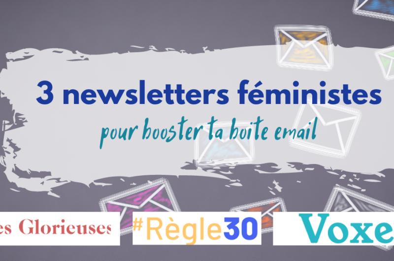 newsletters feministes france