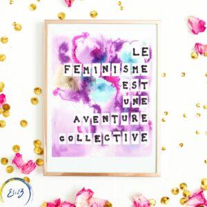féminisme aventure collective