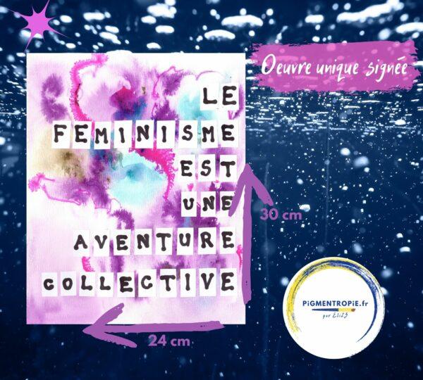 Le féminisme est une aventure collective