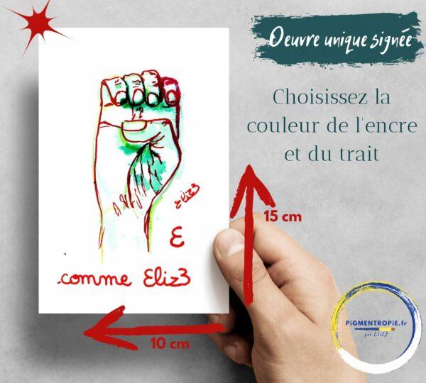 initiale en langue des signes française