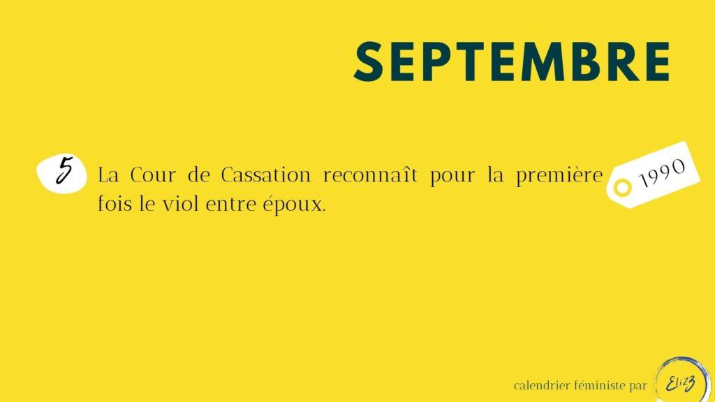 septembre féministe