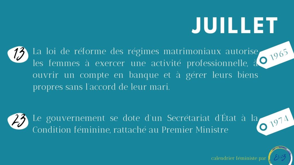 juillet féministe
