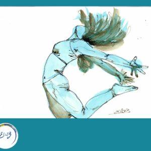 danse liberté dessin