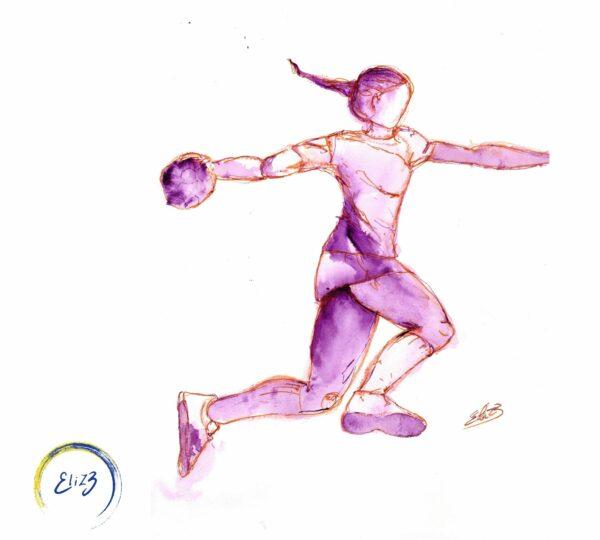 hand-ball féminin