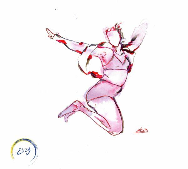 art féministe saut libre