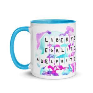 mug liberté égalité adelphité