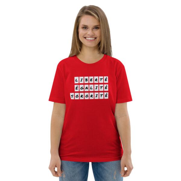 tshirt red sisterhood